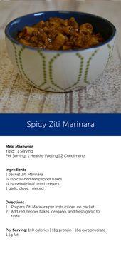 Spicy Ziti Marinara
