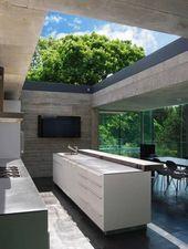 15 moderne Küche im Freien Designs für Sommer Entspannung