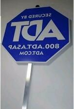 New Adt Security Yard Sign And No Free Stickers Waterproof Uv