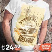 Fertigen Sie T-Shirts für Wolksvagen Käferenthusiasten nur hier kundenspezifisch an   – Vosvos (Beetle) Aksesuar – Accessory