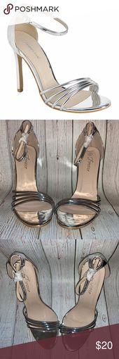 Silver style Excessive heel sandal Silver style Excessive heel sandal, Open spherical toe,…