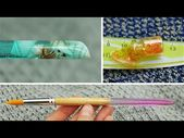 DIY EPOXY RESIN SCHOOL ACCESSORIES (sponge, polymer clay, UV resin) – YouTube (T…   – Crafting || Resin and Acrylic Sculpting
