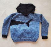 Hai Pullover für Kinder