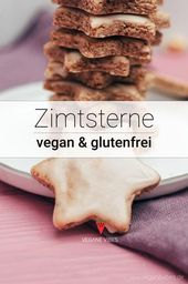 6-Zutaten Zimtsterne (vegan, glutenfrei) Rezept
