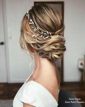 Cara Clyne Long Wedding Hairstyles and Wedding Weddings # Weddings # Hairstyles # Hair