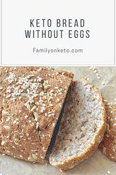 Keto pain sans oeufs pain artisanal faible teneur en glucides