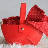 New Basket Diy Little Red Riding Hood 70 Ideas – Korb und Kiste