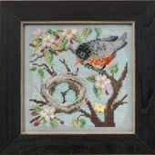 Mill Hill Buttons & Bead Kits MH145103 Spring Series 2015 ~ Spring Robin
