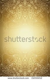 Vintage Vector Pattern Hand Drawn Abstract Background Decorative Retro Banner Can Be Used For Banner Invitation We Vector Pattern Wedding Cards Background