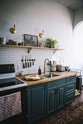Ideen für kleine Küchenumbauten 48