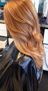 48 Ideen für Haarfarbe Warme Töne Erdbeerblond #haar #rothaarfarben # BeautyBlog #MakeupOfTheDay #MakeupByMe #M