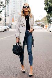 25 Creative Street Style Fall With T-Shirt And Jeans