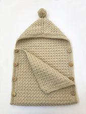 Einfache Babyschlafsack Häkelmuster von Deborah O & # 39; Leary