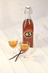 Likör 4 + 3 Selbstgemacht. Wie Licor 43.   – Winter Drinks