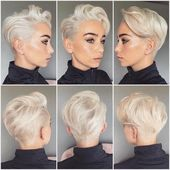 36 easy and cute short hairstyles for round face 27 – JANDAJOSS.ME