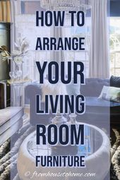Living Room Layouts and Furniture Arrangement Tips   – Decorating living room
