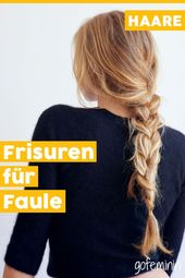 Ingenious hair hacks: quick hairstyles for late risers and styling muffle, #hairstyles # for #g …