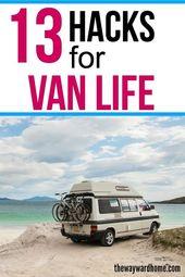 Willst du das Van-Leben leben? Hier finden Sie 13 wichtige Artikel, die Sie in I…