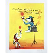 Udo Lindenberg | Andere denken nach – wir denken vor – Siebdruck – #andere #denken #lindenberg #siebdruck – #Zeichnungen