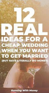 In diesem Beitrag teile ich einige billige Hochzeitsideen, die ich tatsächlich verwendet habe, um meine eigenen zu halten …   – Frugal wedding