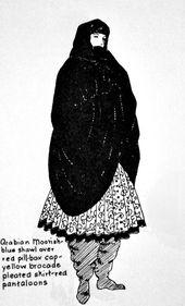 Haremshose: Eine höchst interessante und skandalöse Geschichte – Der Artyologe   – گاتامد ۷