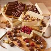 Photo of Tower of Chocolates Deluxe Gift | Harry & David