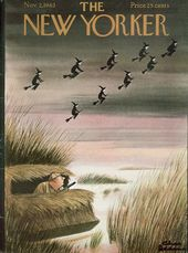 The New Yorker, November 1963. (Cover art: Witch-hunt at Halloween by Charles Ad…  – Covers of 1963