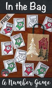 Weihnachtsstrumpf Anzahl Karten – school
