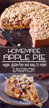 Apfelkuchen mit Streusel (vegan)
