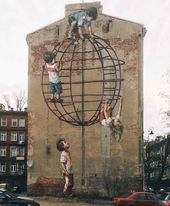 Artist Creates Clever Street Art Installations That Interact with Their Surroundings   – Streetart