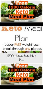 This 1200 calorie low carb meal plan is an easy 7 day menu for fast weight loss …