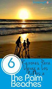 6 Razones Para Llevar A Los Ninos A The Palm Beaches Family