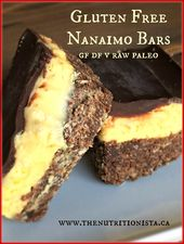 4423d61658deb358c62a9416e5fe35c5  paleo bars gluten free nanaimo bars Well balanced wheat complimentary Nanaimo pubs that are actually tremendously fast and also effortless to bring in, deliciou ...