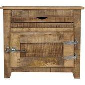 Bathroom cabinet Frigo – solid mango wood – 67 cm RollerRoller