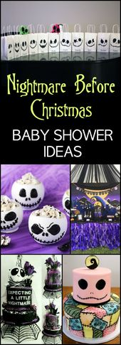 Nightmare Before Christmas Baby Shower Ideas | The…