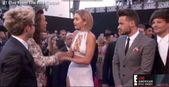 Watch Gigi Hadid Awkwardly Shake Harry Styles's Hand — Then Hug the Rest of One Direction