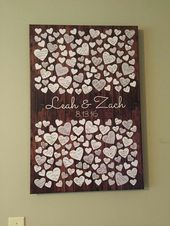 20 Fun and Creative Wedding Guestbook Alternatives…
