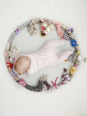 Hula Hoop sensoriel pour bébé – Emploi, apprentissage et jeu en un   – Geburt ☾ Geschenkideen
