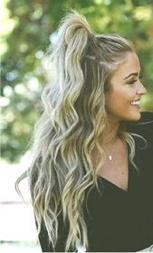 Does anyone have fast party hairstyles for long hair 2019 #flechtfrisuren #gesich …