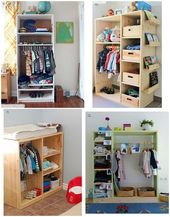 Montessori Closet / Wardrobe Ideas and Inspiration (how we montessori)