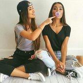 +41 Concepts de fotos de mejores amigas que debes tomar SÍ o SÍ 😍👭❤️