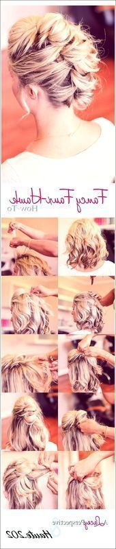 20 beautiful homecoming hairstyles for all hair lengths – popular hairstyles …, #all #bel …