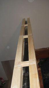 Altes Geländer mit Fermacell-Platten verkleiden -…