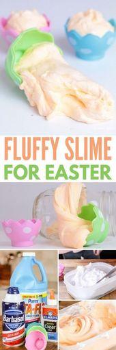 Basteln für Kinder zum Entwerfen der Easter Sunday School 68 Trendy Ideas … – Flauschige Eier