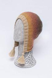 Osterideen PinWire: OOAK Handgestrickte Kapuzenmütze mit Quasten. Erwachsener gestrickter …