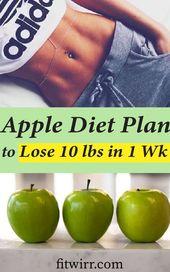5-tägiger Apple Diätplan, um 10 Pfund in einer Woche zu verlieren