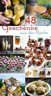 Weihnachtsgeschenke aus der S-Küche – 48 kulinarische Geschenke – 1 Winterküchen – Gruppenbord