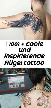 ▷ 1001 + coole und inspirierende flügel tattoo designs und ihre beudetungen 97
