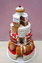 65 ungewöhnliche Hochzeitstorten! | Mach es dir selbst Ideen und Projekte   – Wedding Cake Ideas
