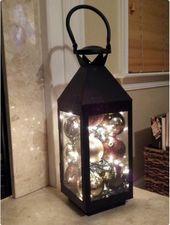 50 idées de décoration de lumières de Noël bricolage à la mode et belles